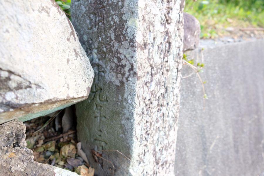 40番観自在寺→41番龍光寺 忘れられた遍路道 標石 88度目