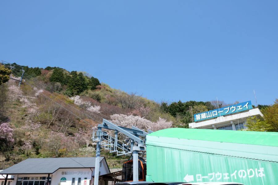 箸蔵寺ロープウェイ