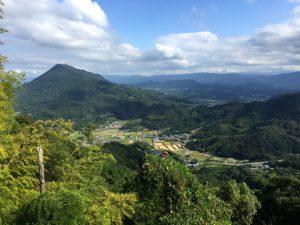 出釈迦寺奥の院 我拝師山からの眺望