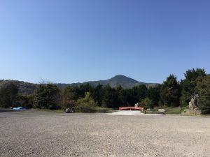 霊山寺 奥駐車場 日本庭園遠景