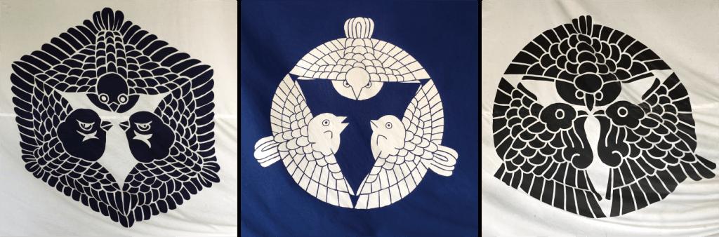 3種の三羽雀紋