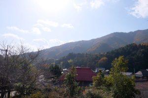 大滝山 遠景