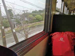 自転車遍路 台風時の電車利用