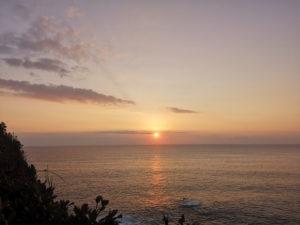 ミニベロ遍路 足摺岬日の出前
