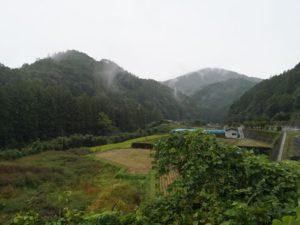 ミニベロ遍路 小田までの山道
