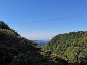 ミニベロ遍路 三坂峠から望む松山