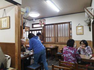 松山鍋焼きうどん「ことり」店内