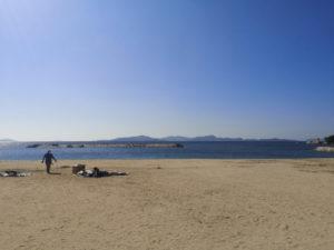 ミニベロ遍路 風早長浜海岸