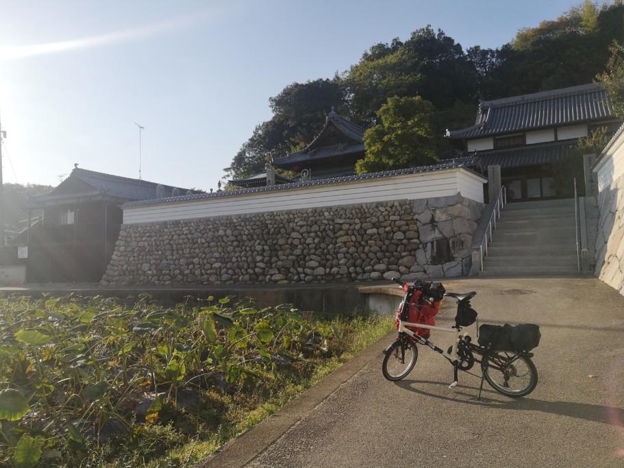 ミニベロ遍路 泰山寺