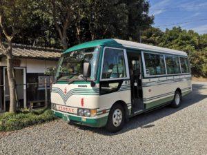 ミニベロ遍路 横峯寺送迎バス