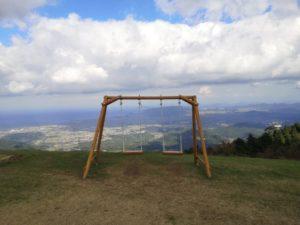 ミニベロ遍路 雲辺寺天空のブランコ