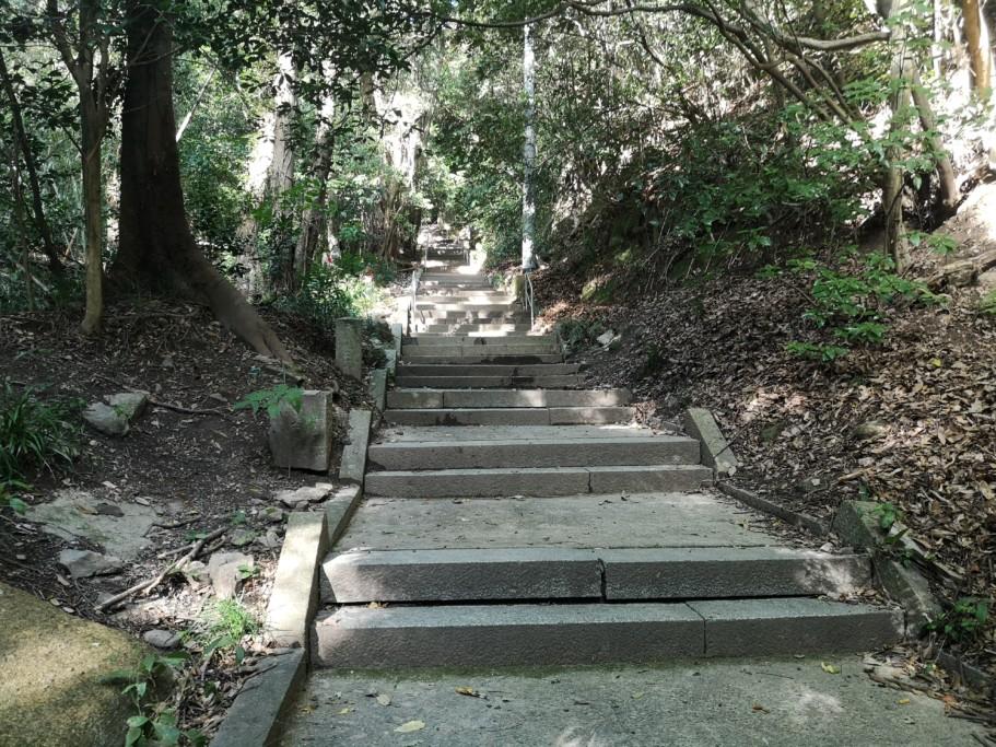 弥谷寺 階段