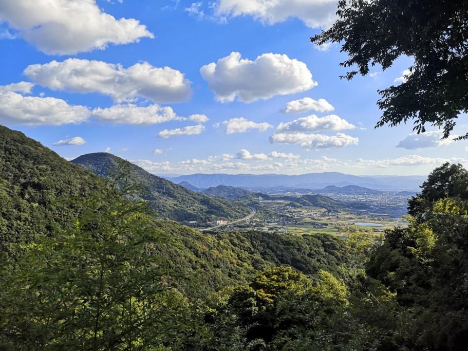弥谷寺からの景色