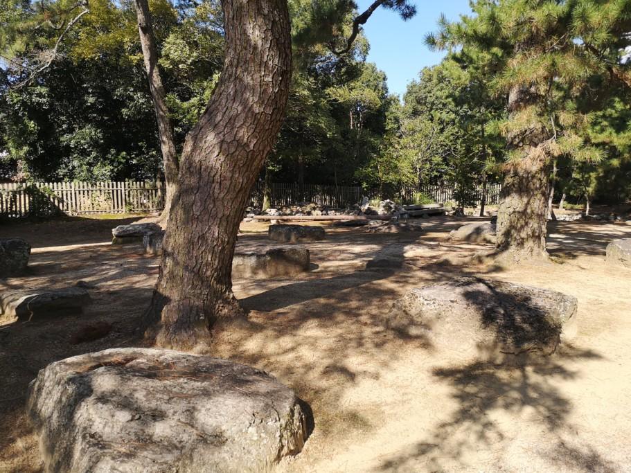 ミニベロ遍路 讃岐国分寺礎石