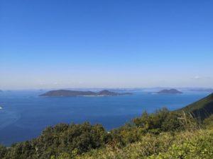 ミニベロ遍路 屋島寺からの景色