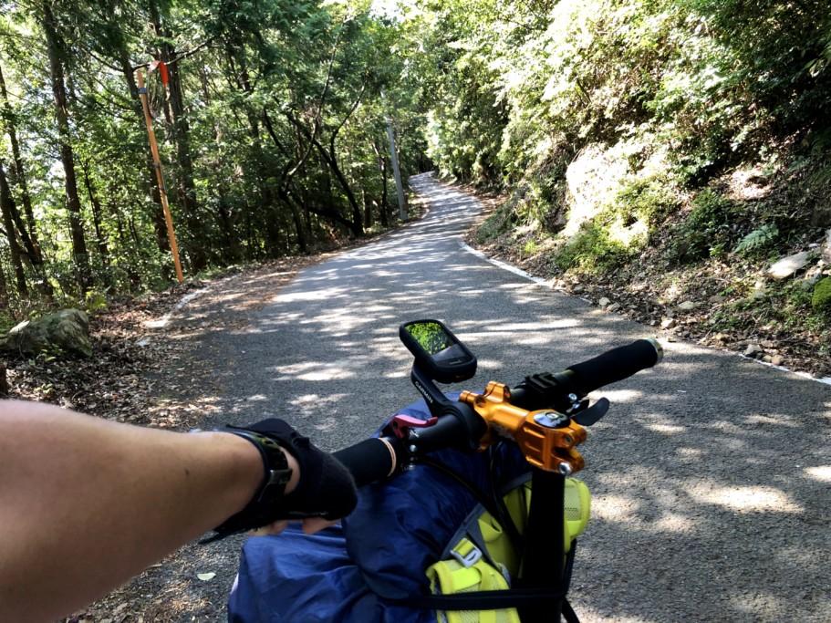 ミニベロ遍路 鶴林寺への坂道アタック