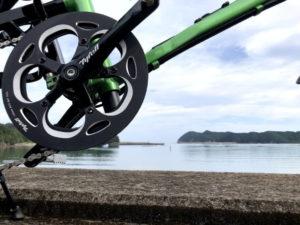 自転車遍路 室戸半島の海岸線