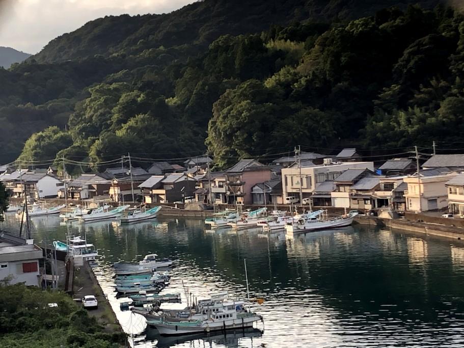 自転車遍路 徳島〜高知県境の漁師町