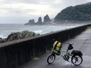 自転車遍路 牟岐町〜室戸岬 夫婦岩