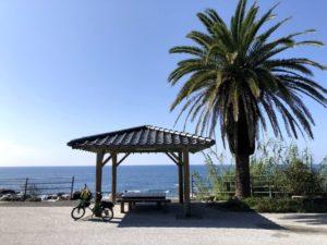 自転車遍路 牟岐町〜室戸岬 休憩場所
