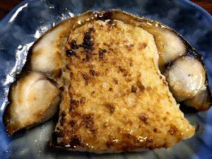高知の鯖寿司 断面