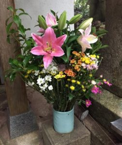 36番青龍寺奥の院 花
