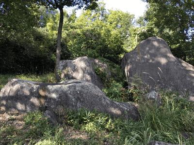 明神原遺跡 巨石群