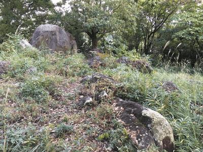 明神原遺跡 立石