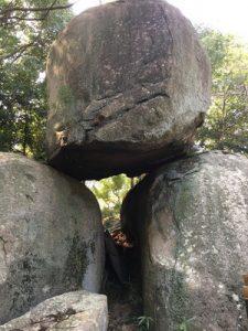 青ノ山 三ツ石