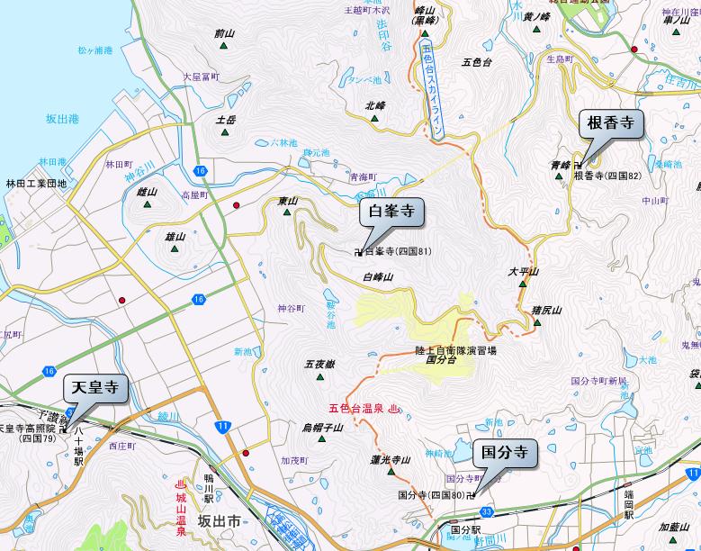 79番から82番 地図