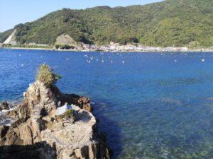ミニベロ遍路 愛媛県西岸の漁村