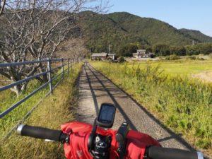 ミニベロ遍路 津島町岩松遍路道