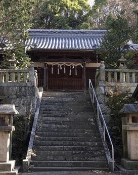 高屋神社 血の宮