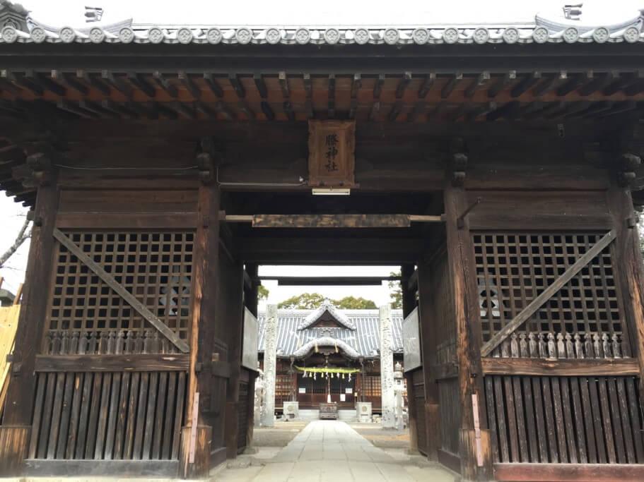 ちきり神社 神門
