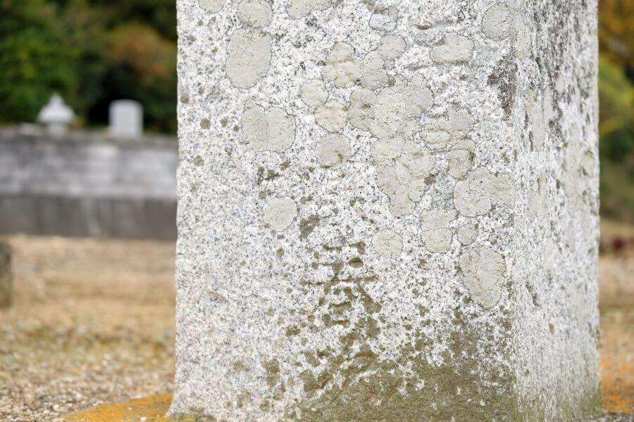 四国中央市の東京神田区施主による標石 左面下部