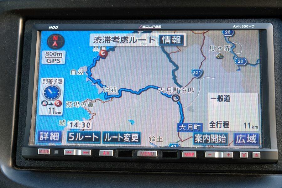 龍ヶ迫 県道357号線 カーナビ経路