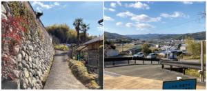 栄福寺への坂