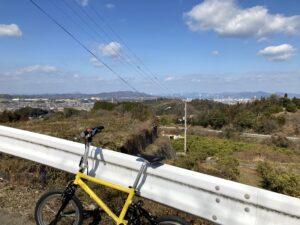 仙遊寺への道と眺望