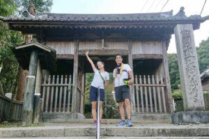 11番藤井寺山門