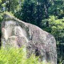 西教寺奥の院磨崖仏